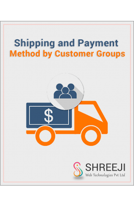 Shipping and Payment Method by Customer Groups