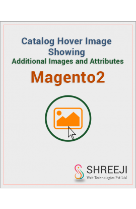 Catalog Hover Image Showing Additional Images and Attributes