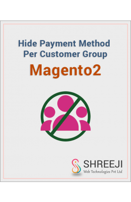 Hide Payment Method Per Customer Group for Magento2